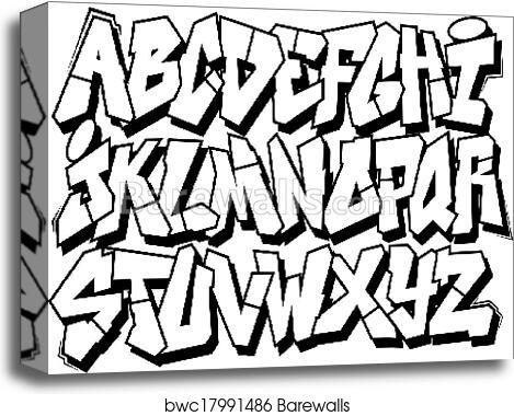 Graffiti Fonts Full Alphabet - Photos Alphabet Collections