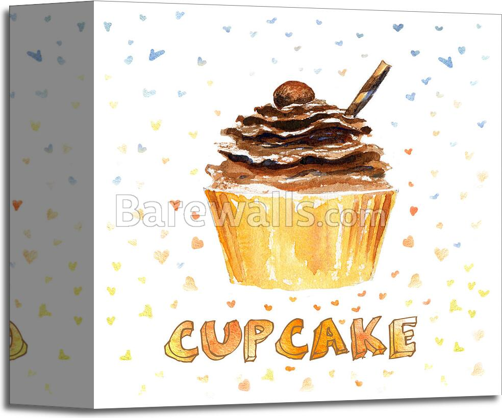 Cupcake - 3 Art Print/Canvas Print Home Decor Wall Art | eBay