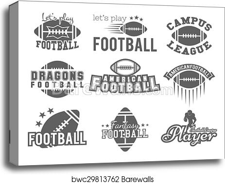 image relating to Printable College Logos named University rugby and american soccer personnel, college or university badges, trademarks, labels, insignias inside retro design. Picture basic style and design for t-blouse, world wide web. Monochrome