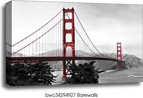 Golden gate bridge home decor