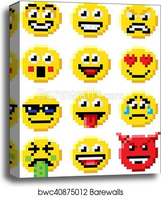 Pixel Art Smiley
