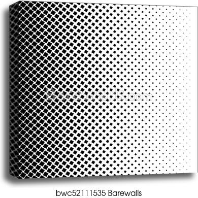 Halftone Square Dot Vector Texture Halftone Pattern Tone Background