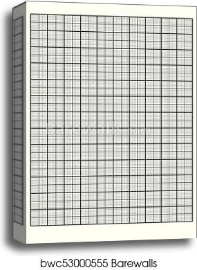 graphic relating to Engineering Paper Printable identify Technological know-how graph paper Printable Graph Paper vector canvas print