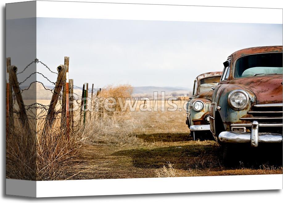 Vintage Cars - 3 Art Print/Canvas Print Home Decor Wall Art   eBay