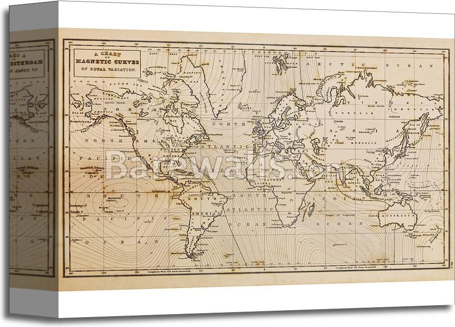 Old hand drawn vintage world map 2 art printcanvas print home old hand drawn vintage world map 2 art gumiabroncs Images