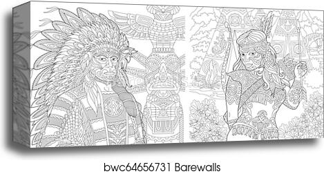 ColorIt: Native American Adult Coloring Book of Dream Catchers ... | 252x469