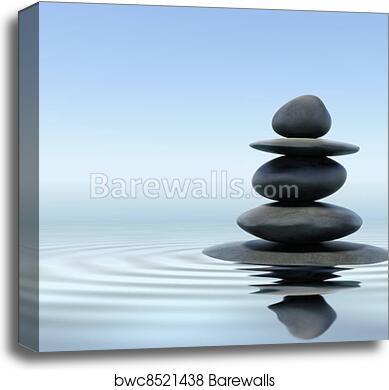 Zen Stones Canvas Print Barewalls Posters Prints Bwc8521438