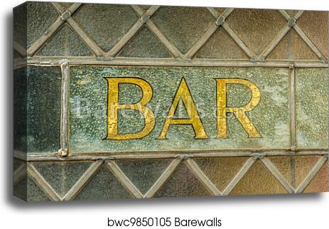 Leaded Gl Window At An English Pub